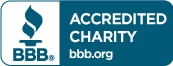 BBB Logo Accredited Charity Seal