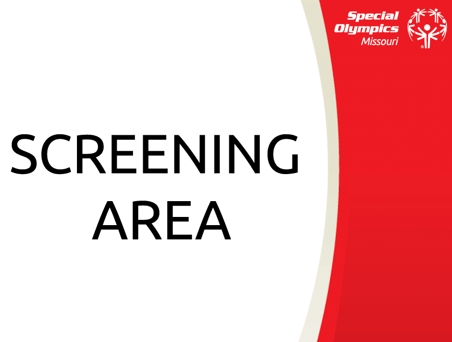 COVID Signs - Screening Area
