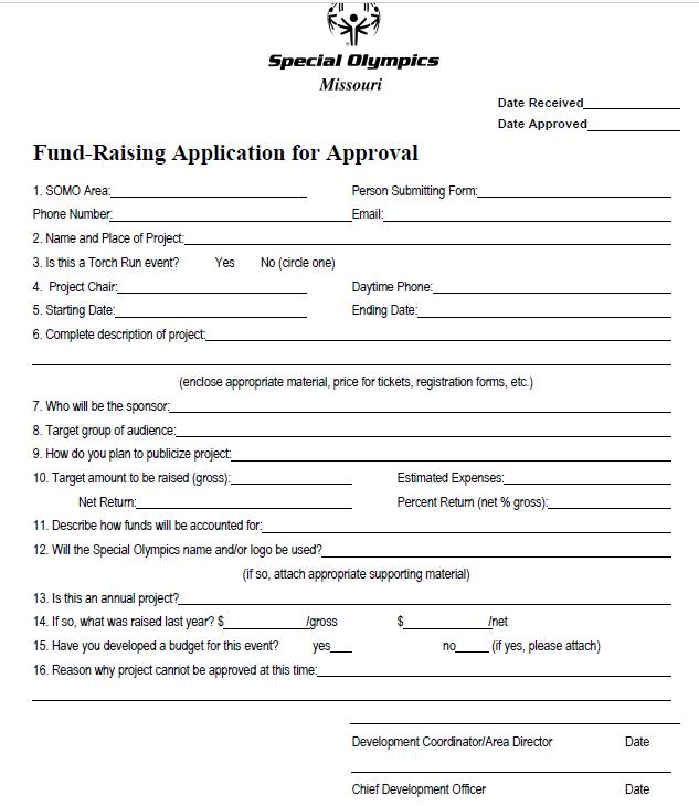Fundraising Application
