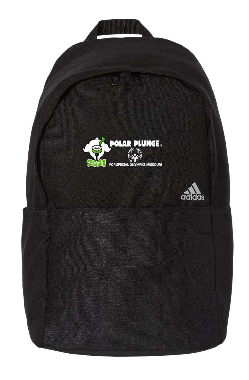 Bookbag with 2021 Polar Plunge logo on it