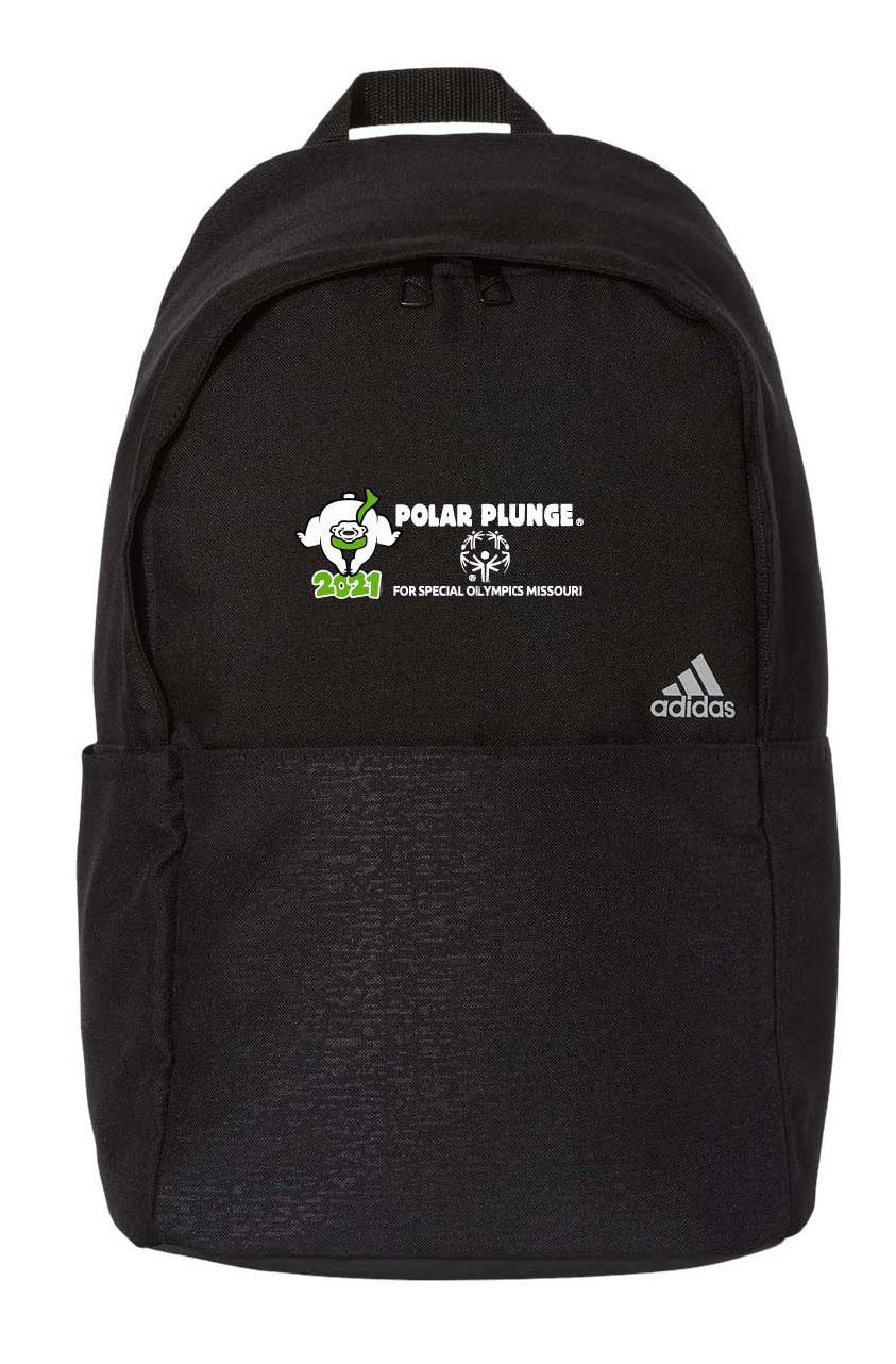 Bookbag with 2021 Polar Plunge logo on it