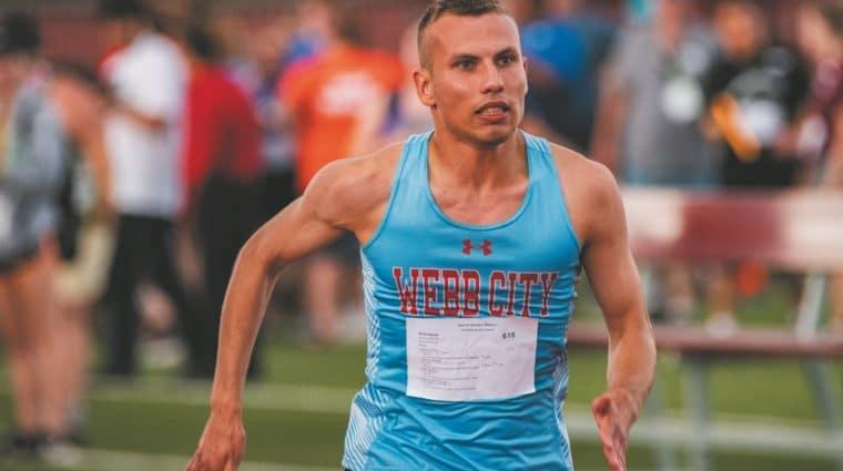 Brett Harper, Special Olympics Missouri athlete.