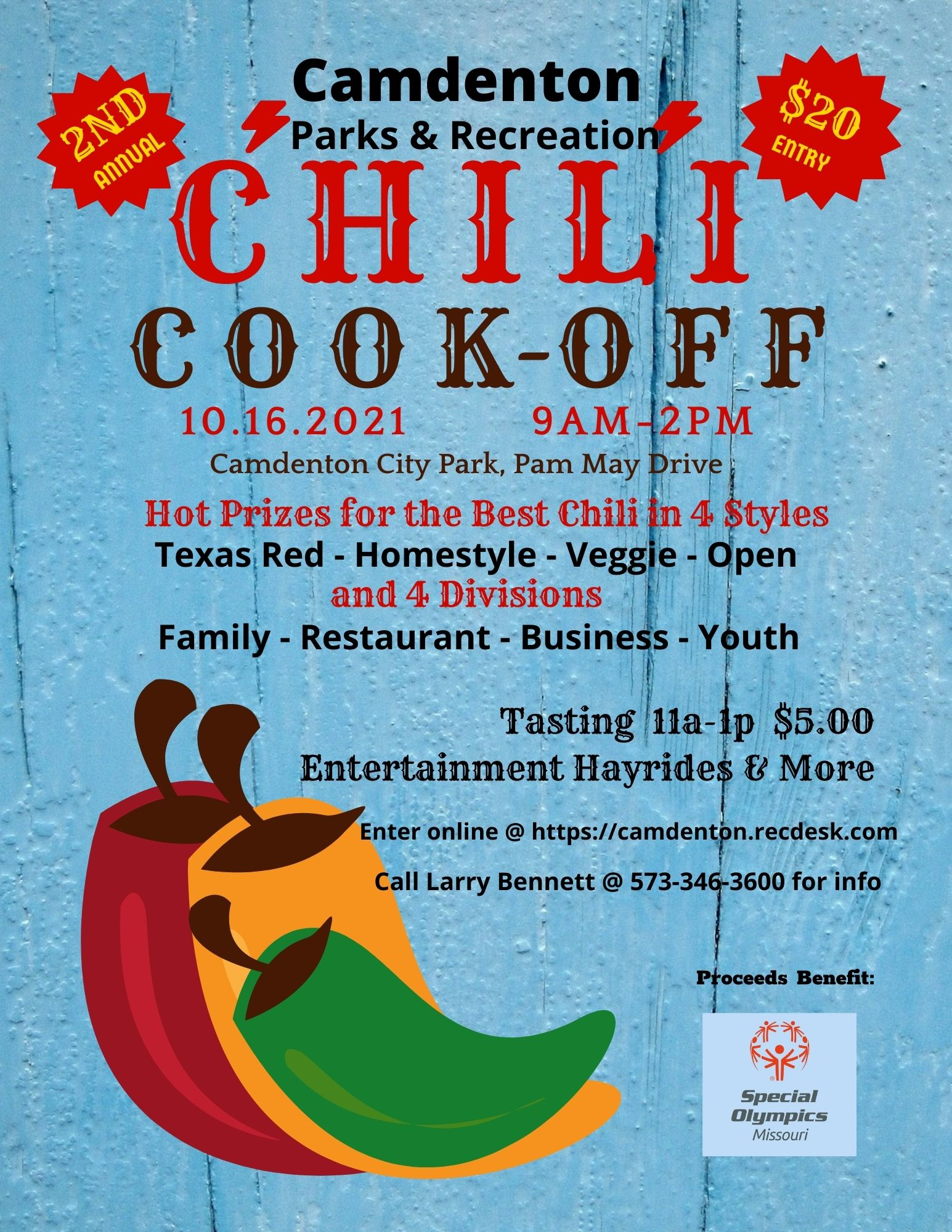 Chili Cook Off Event Flyer 4