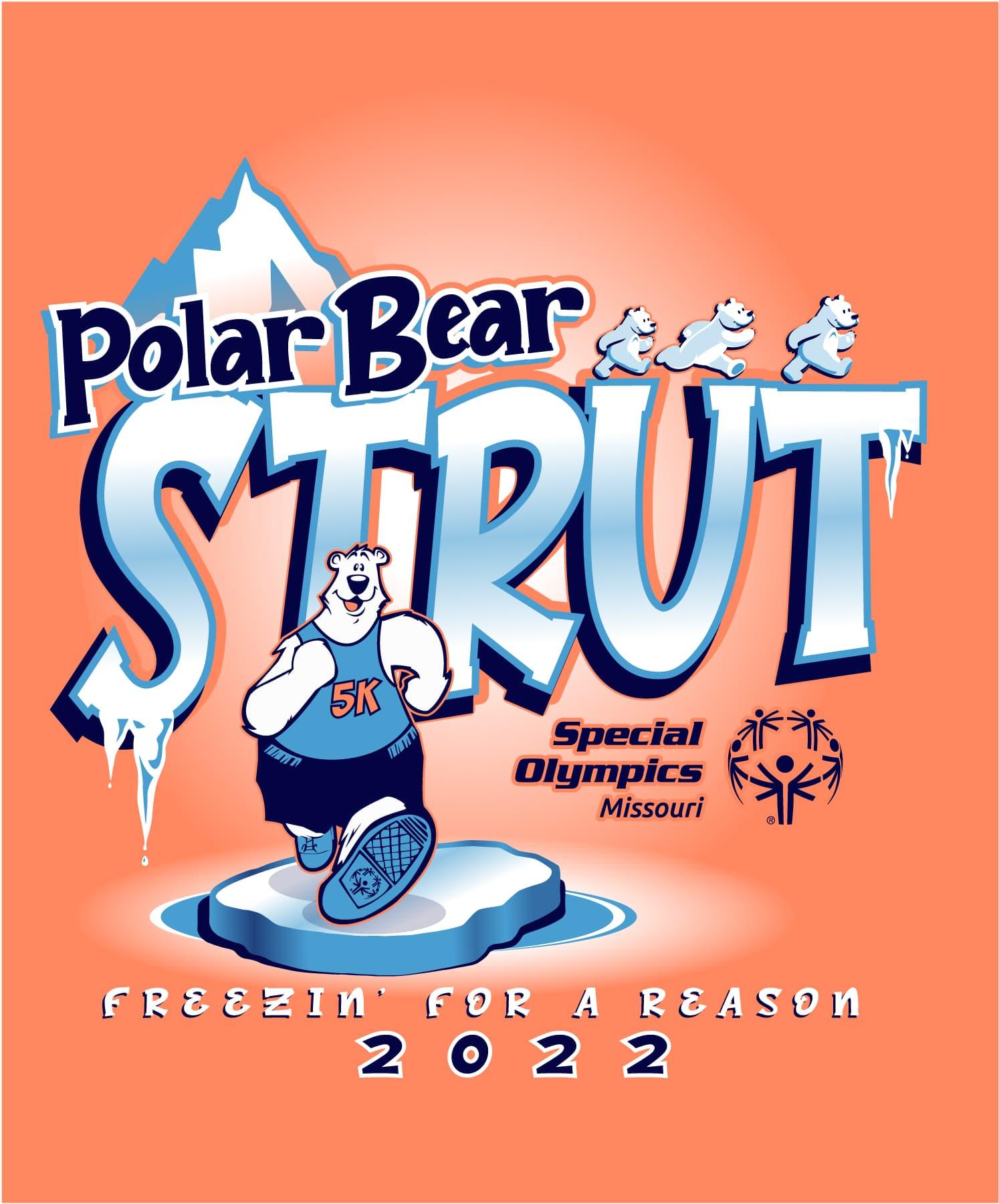 2022 Polar Bear Strut logo